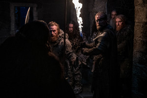 8x01 ~ Winterfell ~ Tormund and Beric