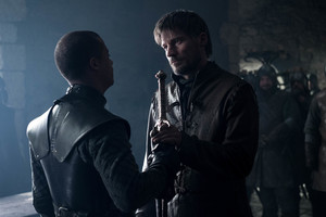 8x02 ~ A Knight of the Seven Kingdoms ~ Jaime and Grey Worm