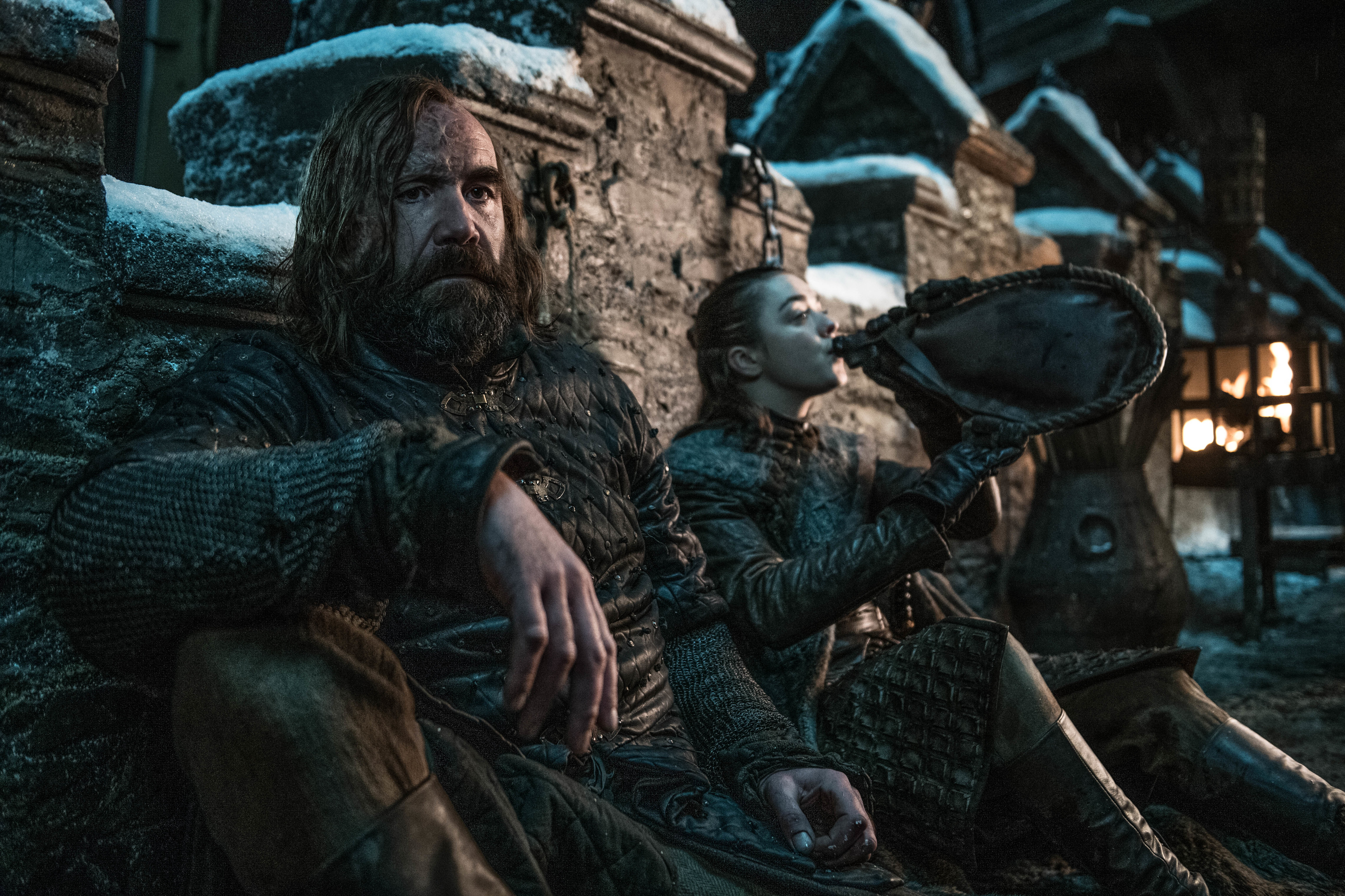 8x02 ~ A Knight of the Seven Kingdoms ~ Sandor and Arya