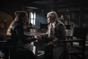 8x02 ~ A Knight of the Seven Kingdoms ~ Sansa and Daenerys