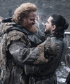 8x02 ~ A Knight of the Seven Kingdoms ~ Tormund and Aegon - game-of-thrones photo