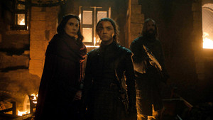 8x03 - The Long Night - Melisandre, Arya and The Hound