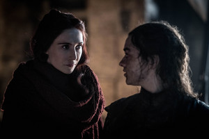 8x03 - The Long Night - Melisandre and Arya