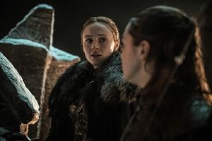8x03 - The Long Night - Sansa and Arya