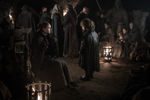 8x03 - The Long Night - Sansa and Tyrion