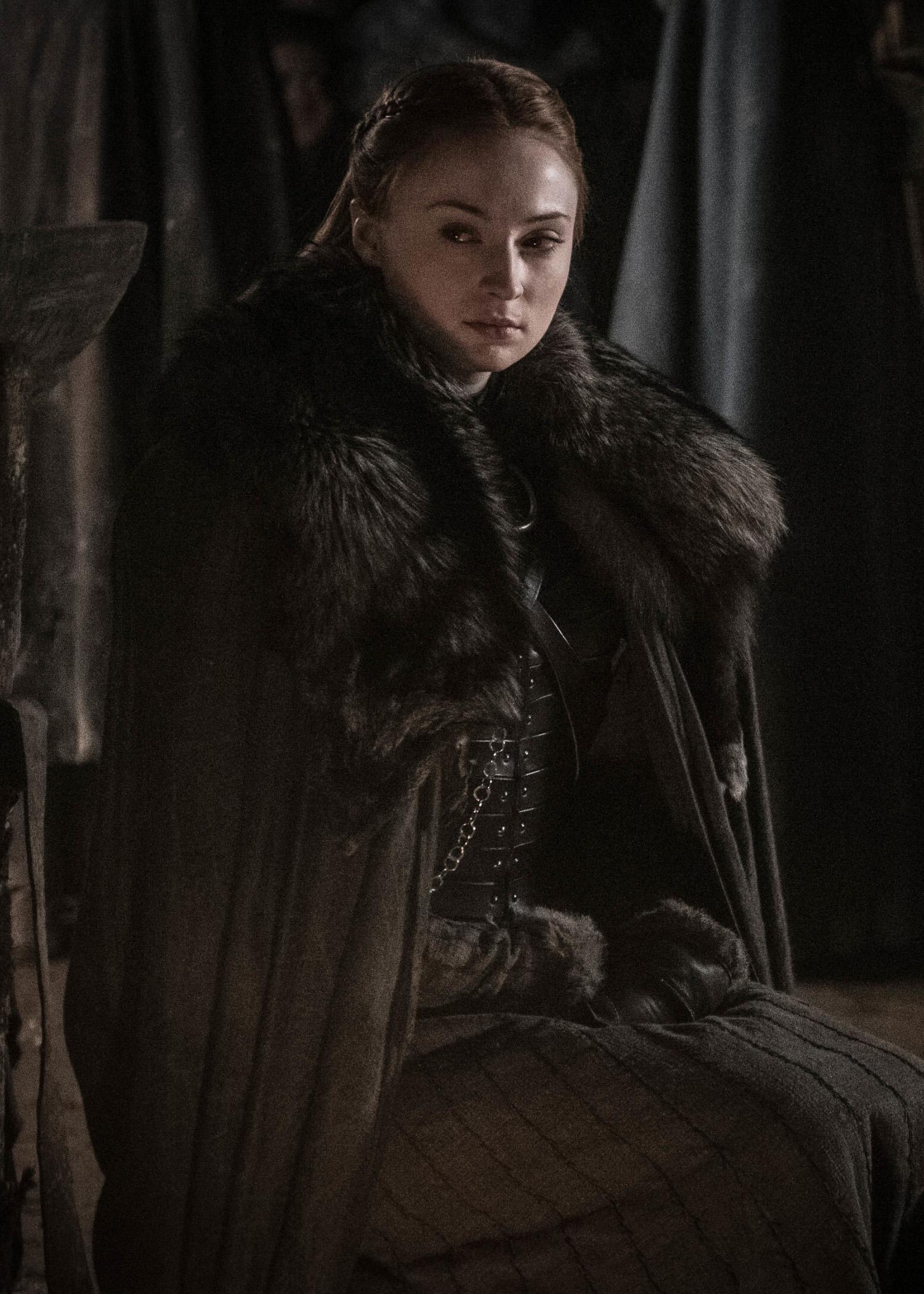 8x03 - The Long Night - Sansa
