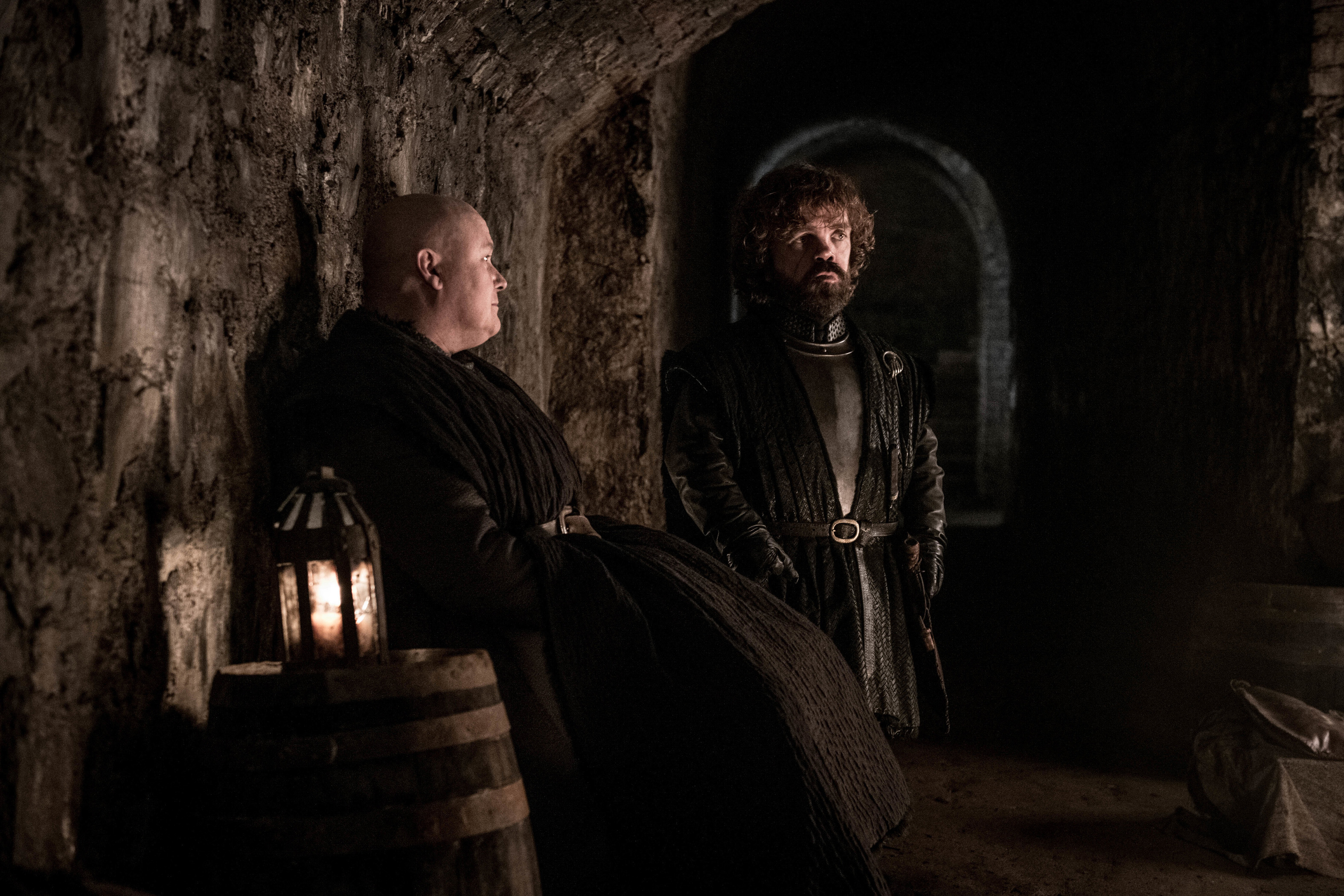 8x03 - The Long Night - Varys and Tyrion