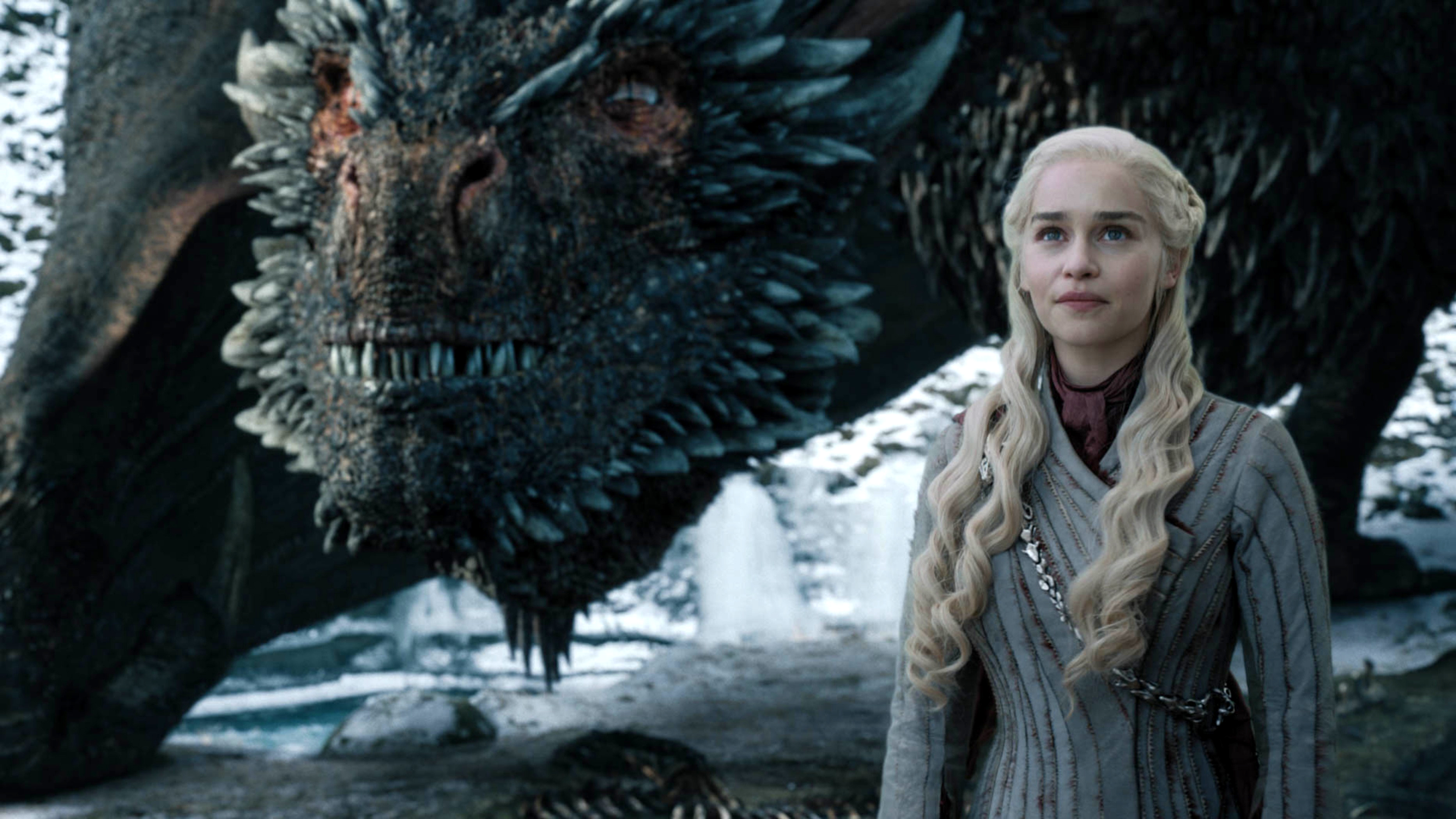 8x04 - The Last of the Starks - Daenerys and Drogon