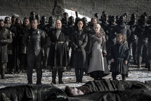 8x04 - The Last of the Starks - Grey Worm, Varys, Missandei, Daenerys and Tyrion