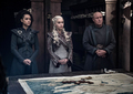 8x04 - The Last of the Starks -  Missandei, Daenerys and Varys - game-of-thrones photo