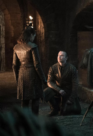 8x04 - The Last of the Starks - Arya and Gendry