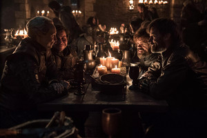 8x04 - The Last of the Starks - Brienne, Podrick, Tyrion and Jaime