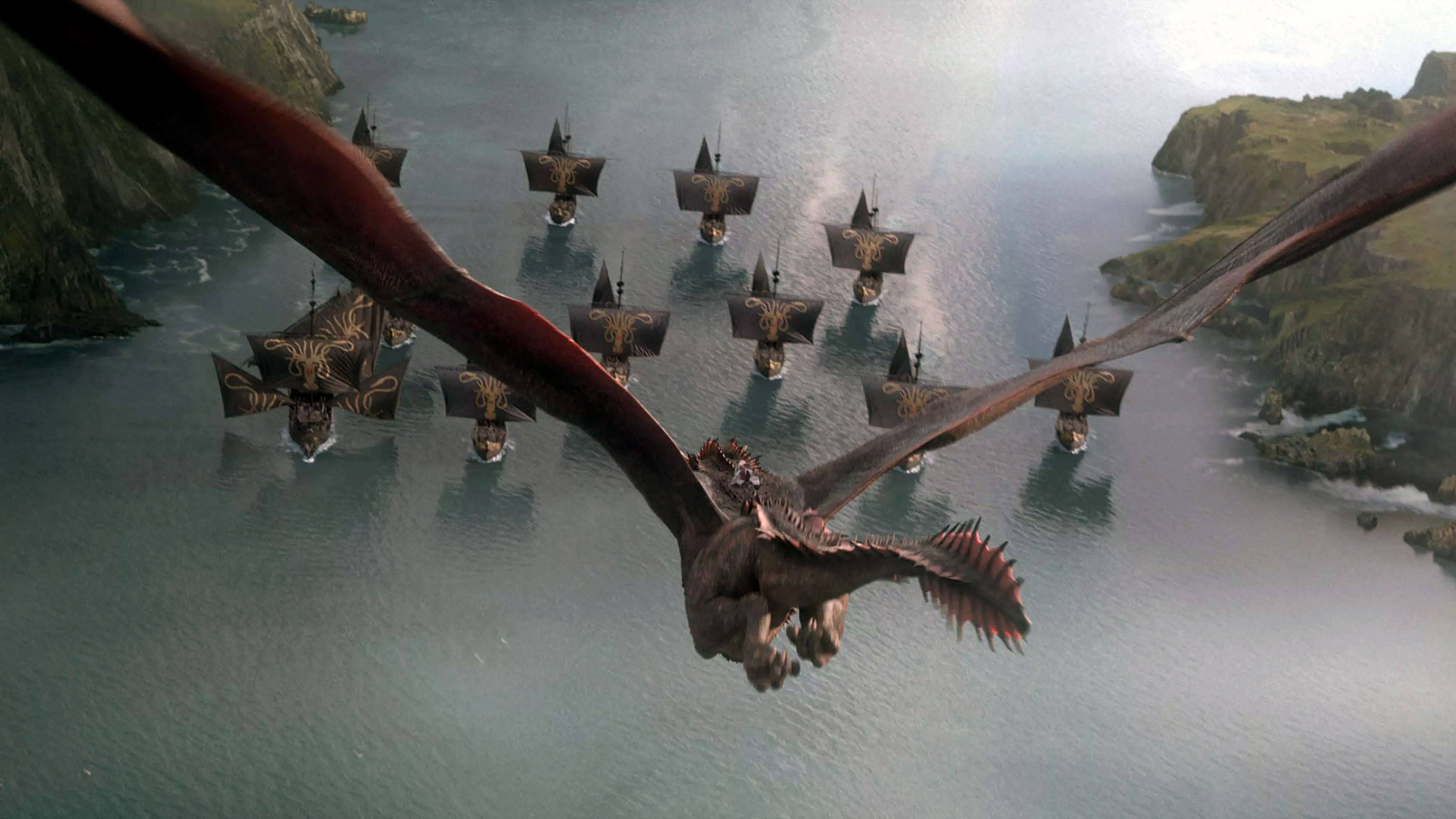 8x04 - The Last of the Starks - Drogon vs. Euron
