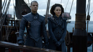 8x04 - The Last of the Starks - Grey Worm and Missandei