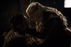 8x04 - The Last of the Starks - Jon and Daenerys