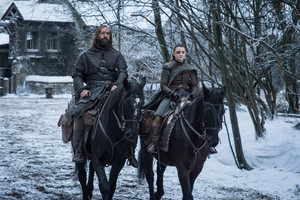8x04 - The Last of the Starks - The Hound and Arya