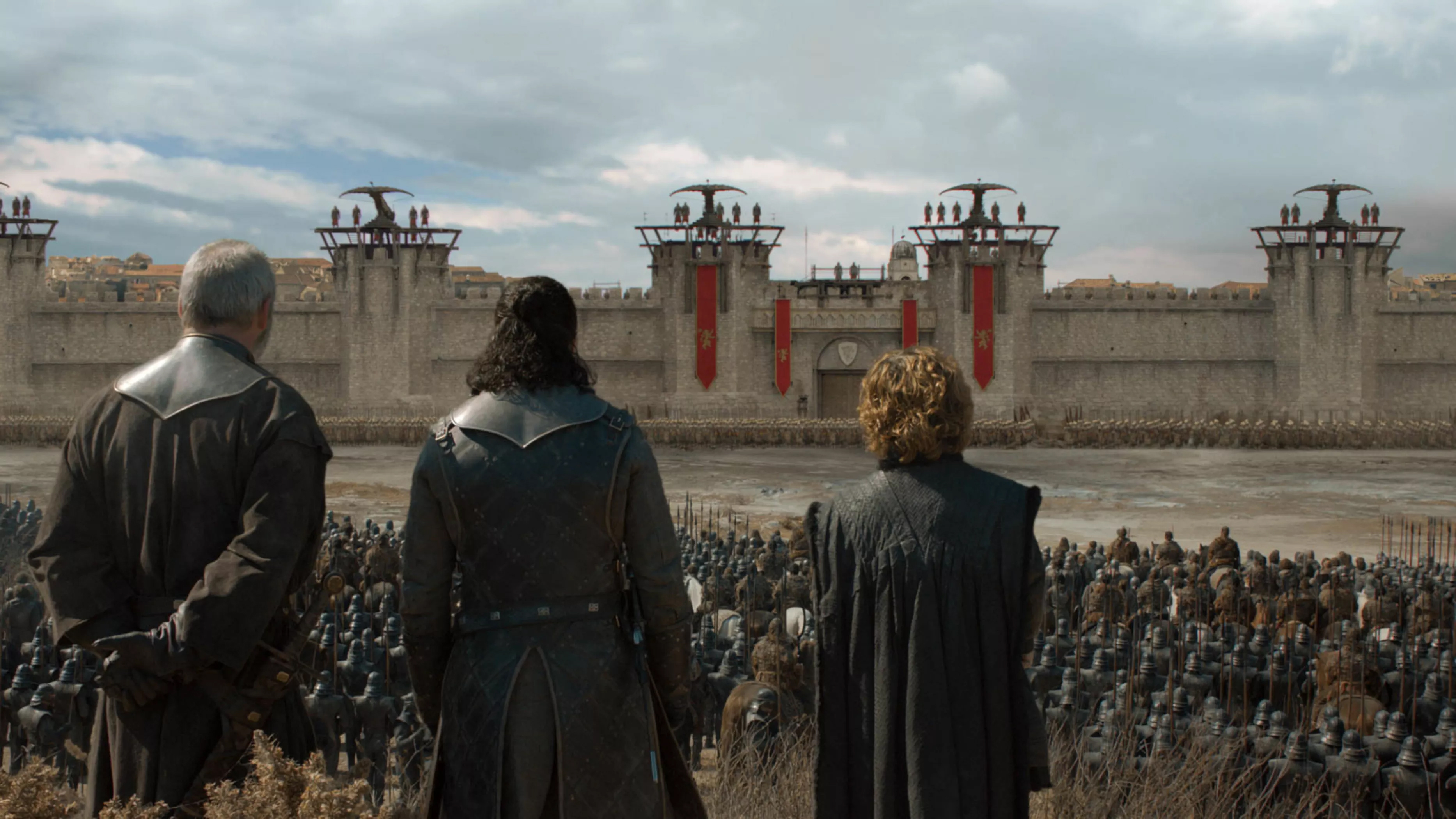 8x05 - The Bells - Davos, Jon and Tyrion