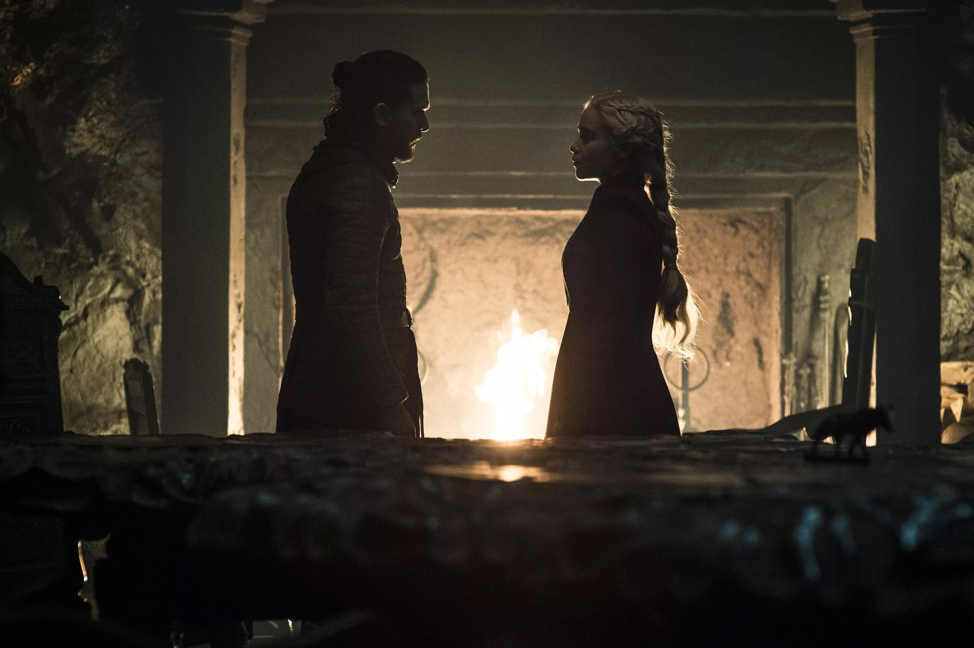 8x05 - The Bells - Jon and Daenerys