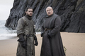 8x05 - The Bells - Jon and Varys - game-of-thrones photo