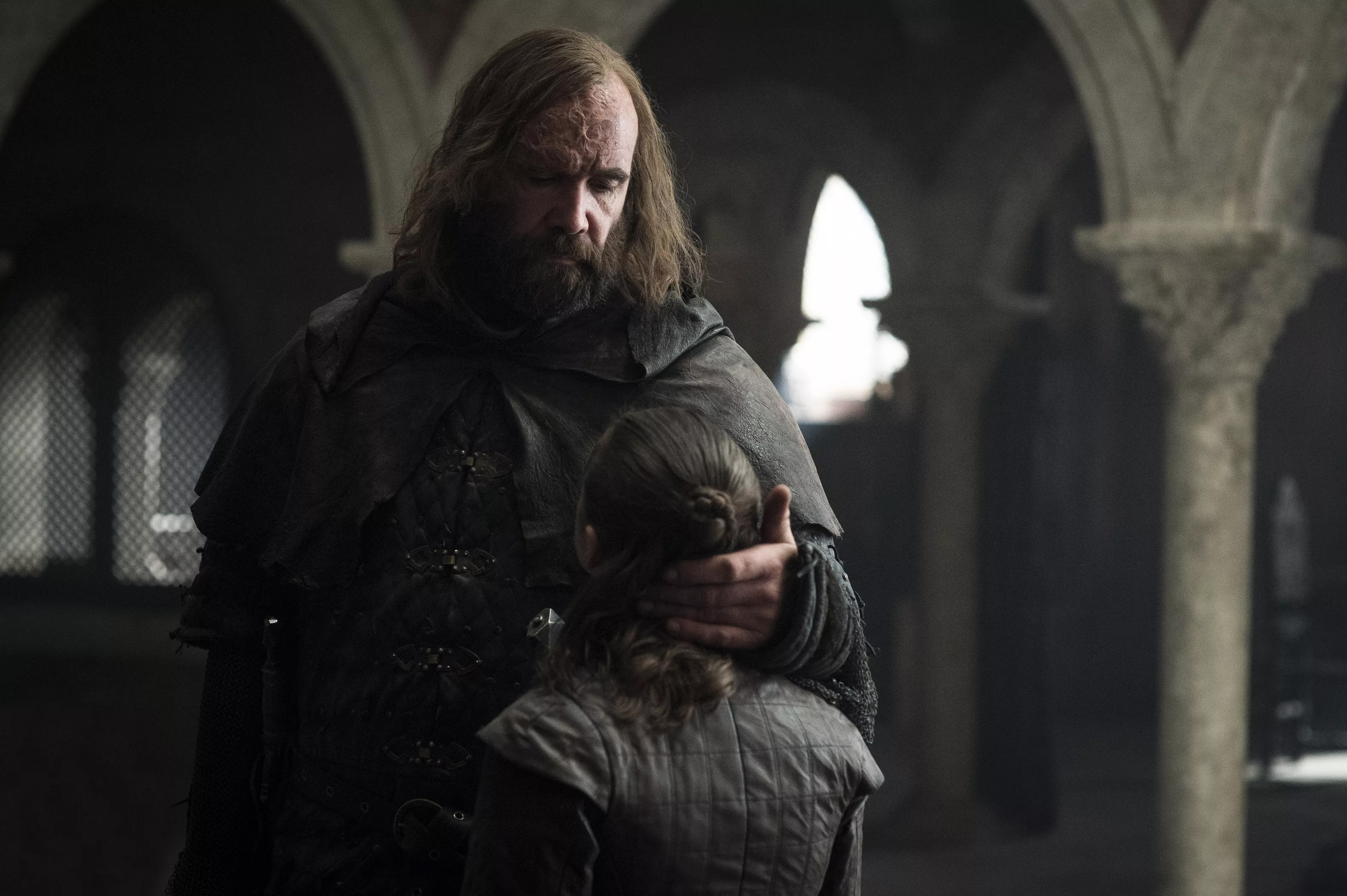 8x05 - The Bells - The Hound and Arya
