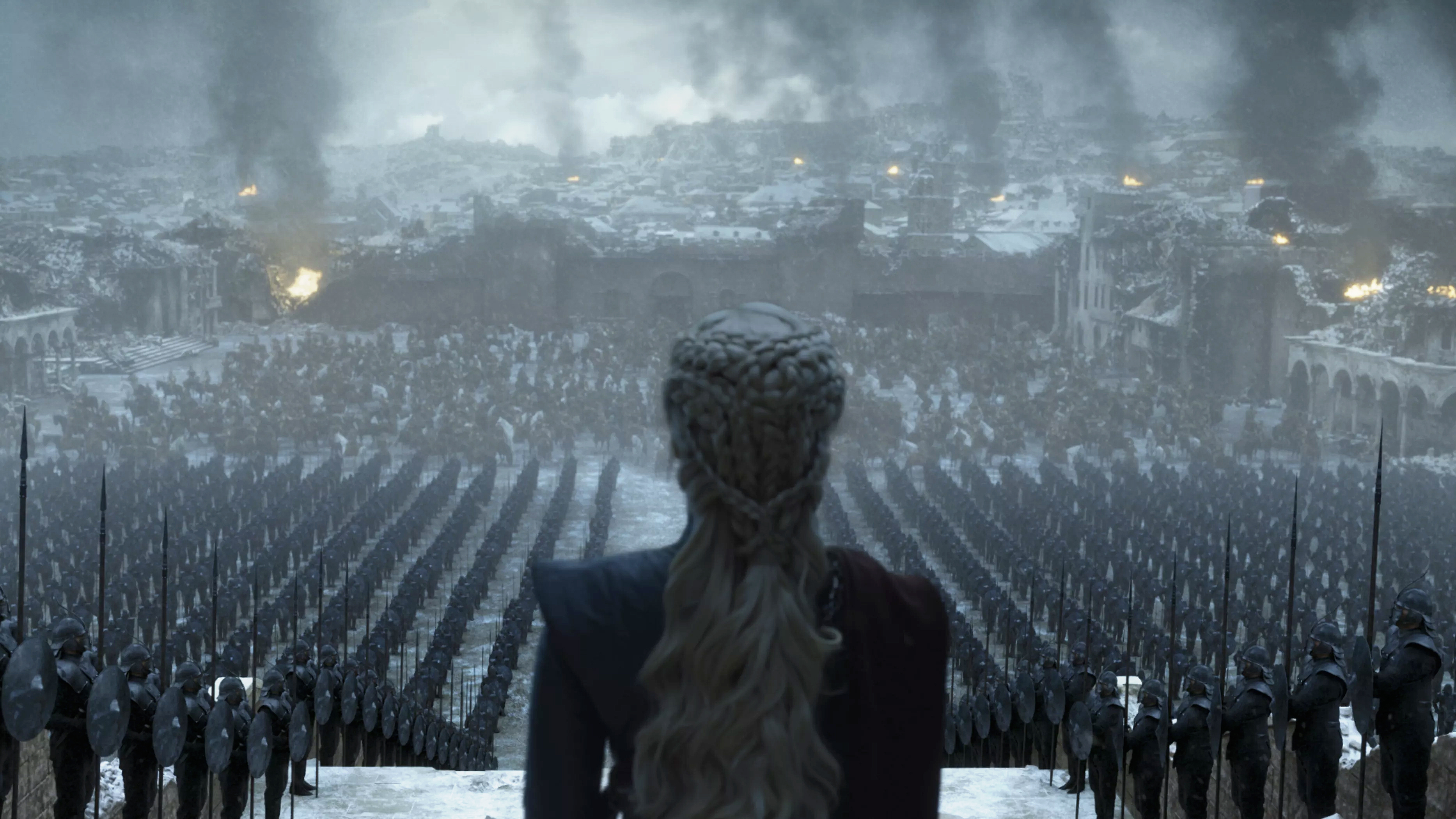 8x06 - The Iron सिंहासन - Daenerys