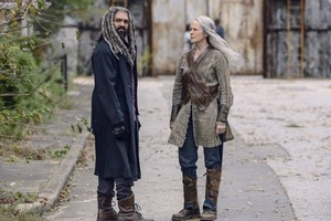9x15 ~ The Calm Before ~ Carol and Ezekiel