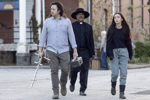 9x15 ~ The Calm Before ~ Eugene, Gabriel and Rosita