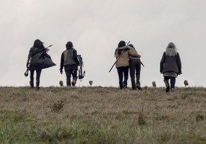 9x15 ~ The Calm Before ~ Yumiko, Daryl, Michonne, Siddiq and Carol