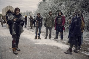 9x16 ~ The Storn ~ Daryl, Alden, Aaron, Jerry and Ezekiel