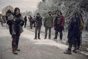 9x16 ~ The Storn ~ Daryl, Alden, Aaron, Jerry and Ezekiel