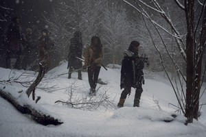 9x16 ~ The Storn ~ Daryl, Michonne, Ezekiel, Carol and Jerry