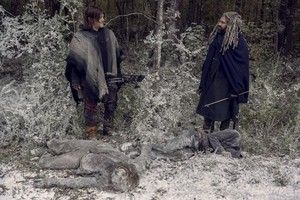 9x16 ~ The Storn ~ Daryl and Ezekiel