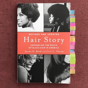 A Book Pertaining To Black Hair