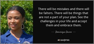 A Quote From Dominque Dawes