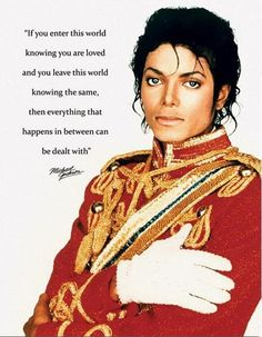 A Quote From Michael Jackson