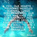 A Quote Pertaining To Swimming