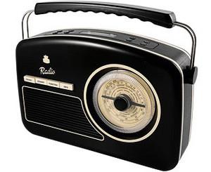 A Vintage AM/FM Radio