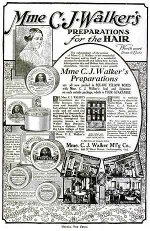 A Vintage Madame C.J. Walker Promo Ad