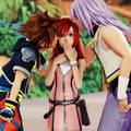 A love triangle - kingdom-hearts photo