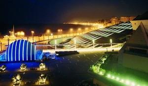 ALEXANDRIA bibliotheek EGYPT IN THE NIGHT