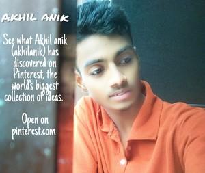 Akhil ANIK actor