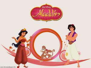 Aladdin And jasmijn