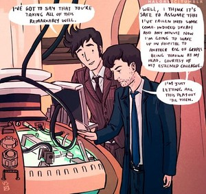 Alec Hardy meets the Tenth Doctor! *lol!*