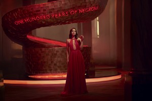 Ana ~ Entering Red for Campari (2019)