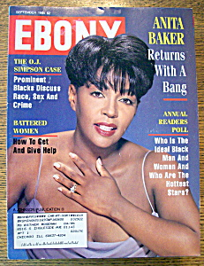 Anita Baker On The Cover Of Ebony