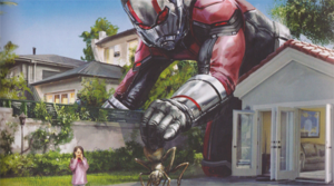 Ant-Man And The Wasp concept art of Scott and Cassie Lang