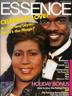 Aretha Franklin And Glynn Truman On The Cover Of Essence