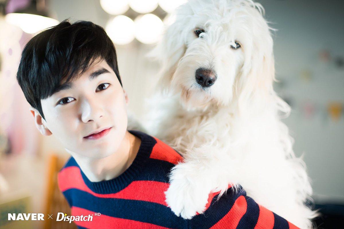 Aron photoshoot with Aso