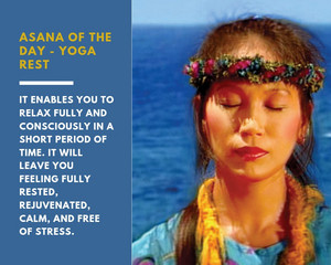 Asana of the day: Yoga Rest