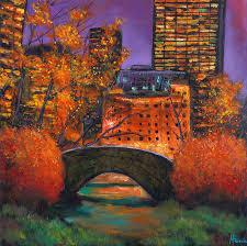 Autumn  Night In New York